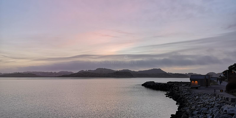 Hafrsfjord images libres de droits