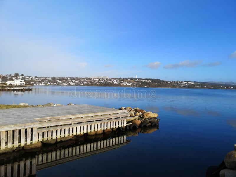 Hafrsfjord immagini stock
