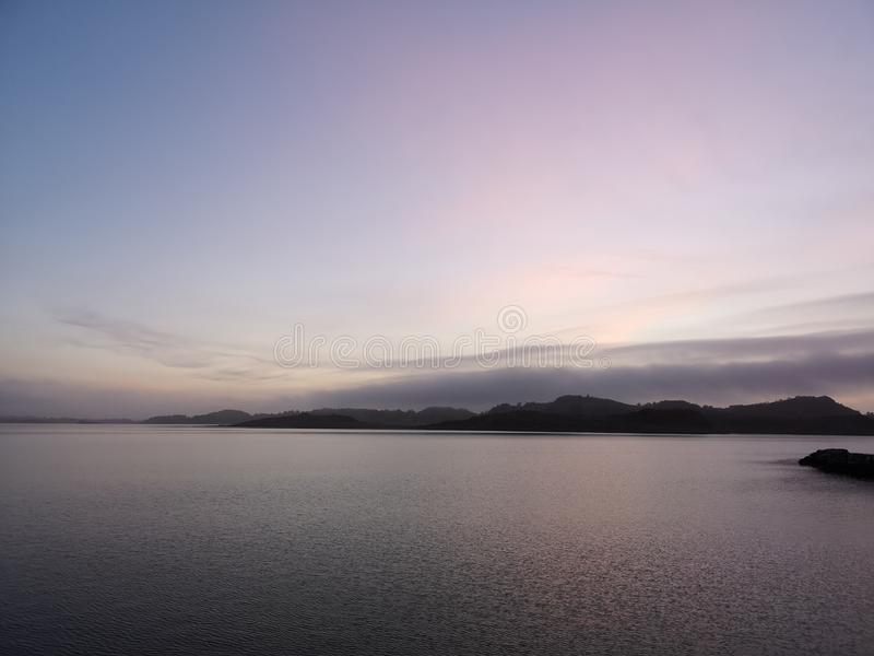 Hafrsfjord obraz stock