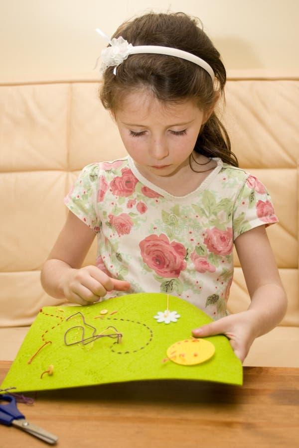haftuje dziewczyny obrazy royalty free