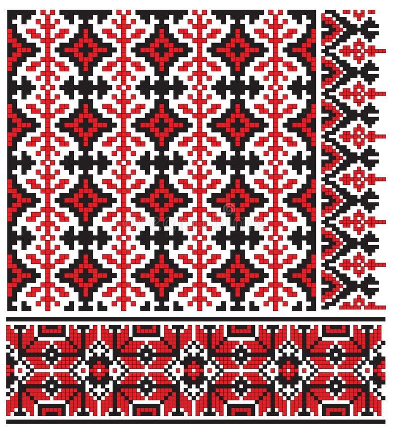 haftuje ukrainian ilustracji