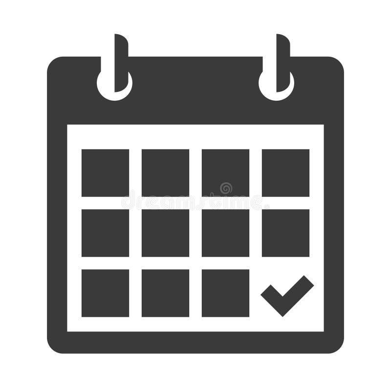 Haga calendarios el icono