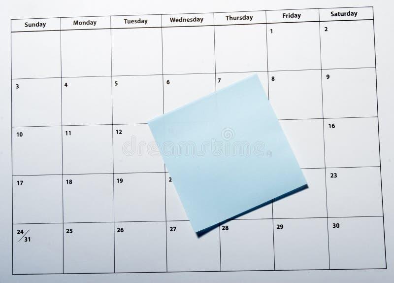 Haga calendarios el primer fotos de archivo libres de regalías