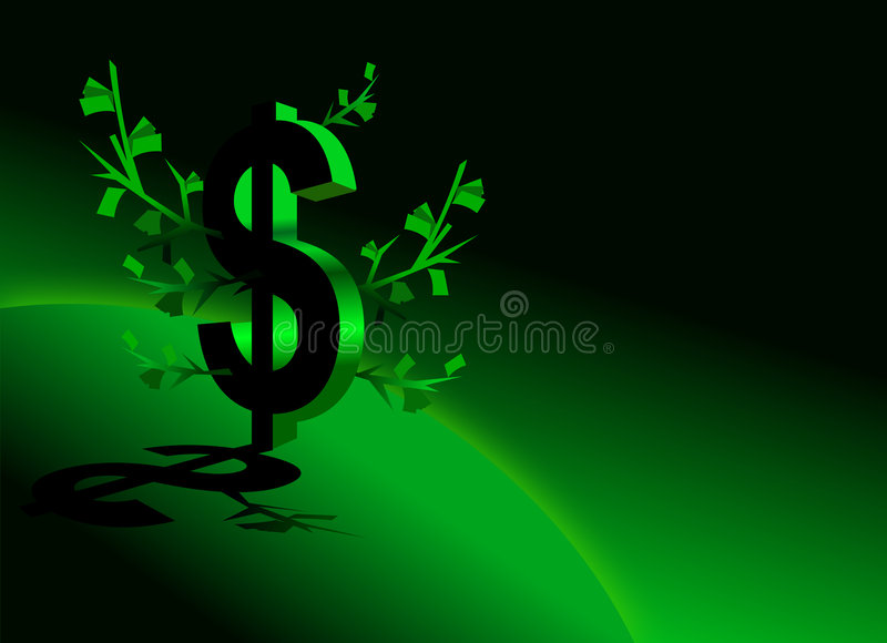 Haga el dinero ilustración del vector