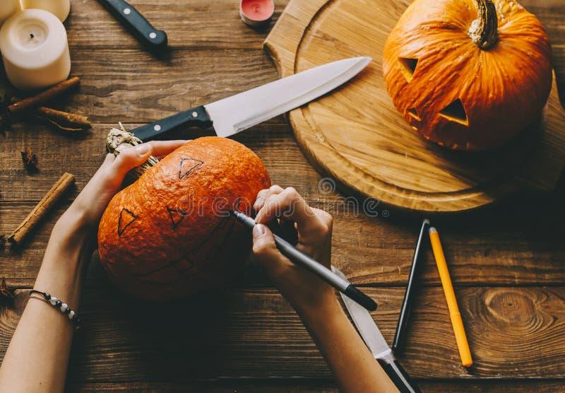 Haga Halloween foto de archivo libre de regalías