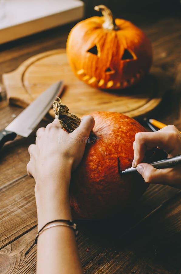 Haga Halloween imágenes de archivo libres de regalías