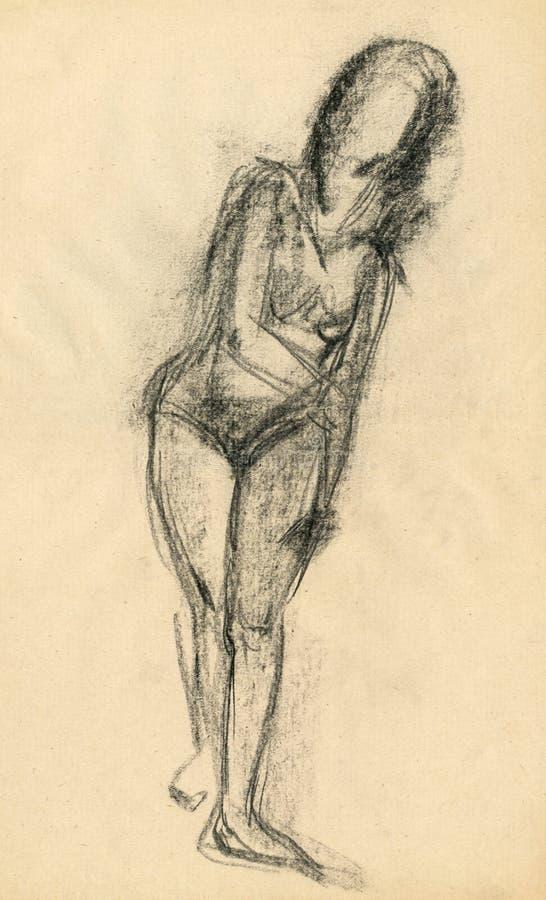 Download Haga La Gimnasia, Cuadro 10 Stock de ilustración - Ilustración de mano, mujer: 7277146