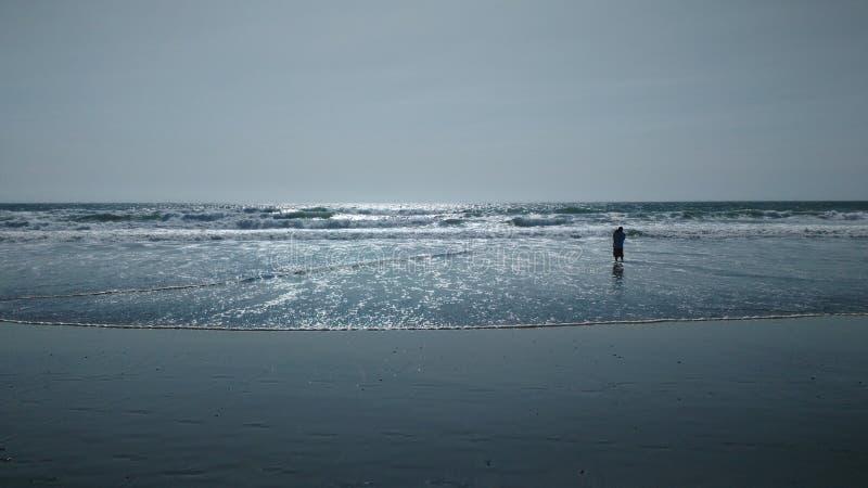 Haga una pausa el océano imagenes de archivo