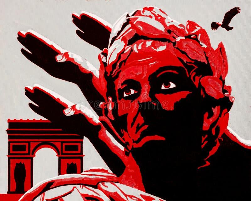 Hagel Caesar vector illustratie