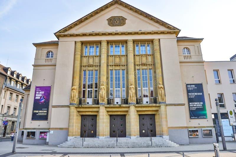 Hagen Hagen Hagen de théâtre en Allemagne photo stock