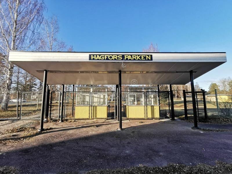 Hagfors Parken royalty free stock photography