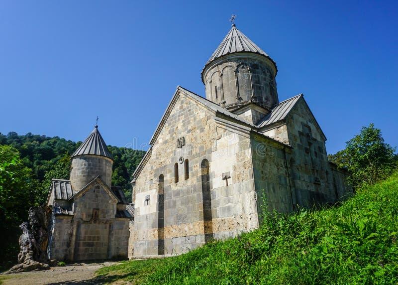 Haghartsin修道院教会 图库摄影