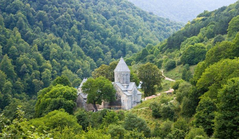 Het Klooster van Haghartsin stock afbeelding