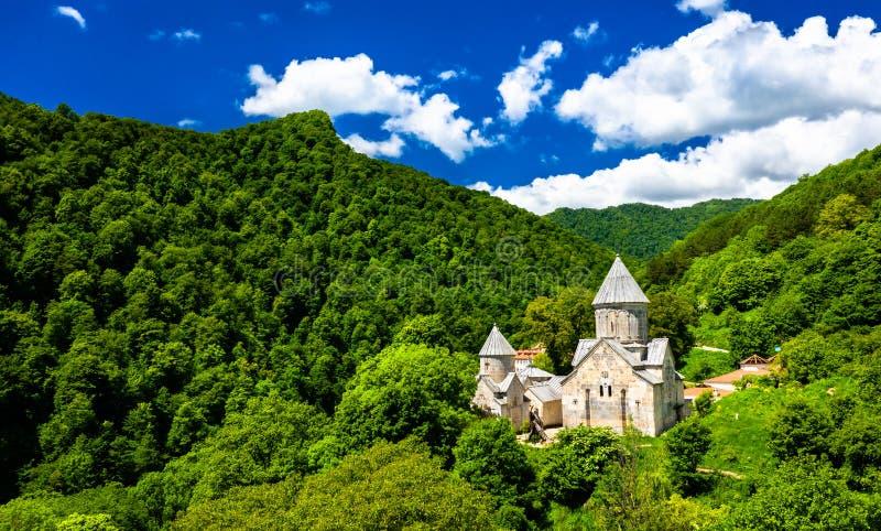 Haghartsin kloster i Armenien arkivbilder