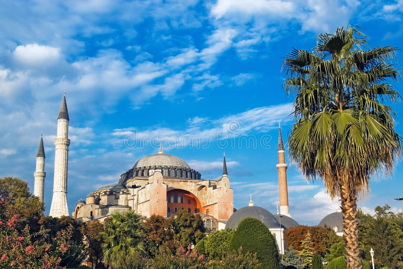Haghia Sofia, Istanbul images libres de droits