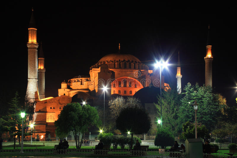 Haghia Sofya Mosque royalty free stock photos