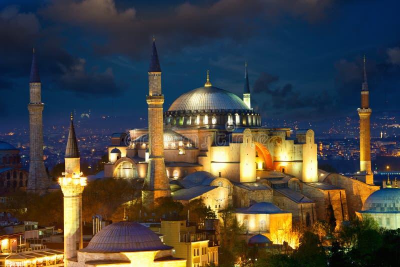 Haghia Sophia em Istambul imagem de stock royalty free