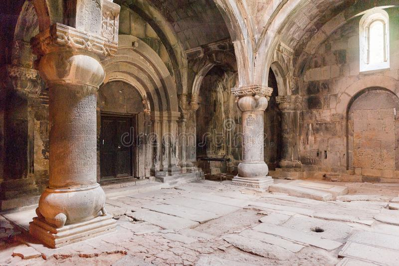 Haghpat kloster, Armenien royaltyfria bilder