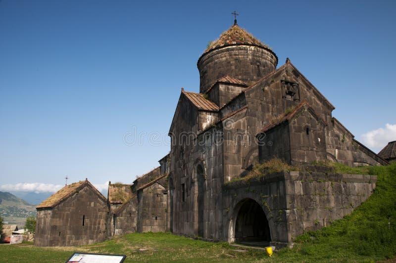 Haghpat kloster, Armenien fotografering för bildbyråer