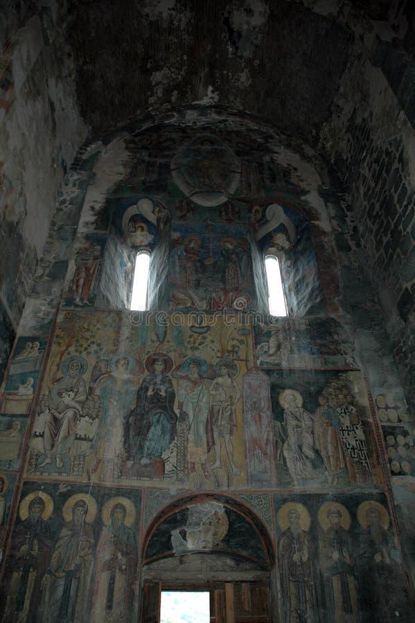 Haghpat kyrka Armenien royaltyfri bild