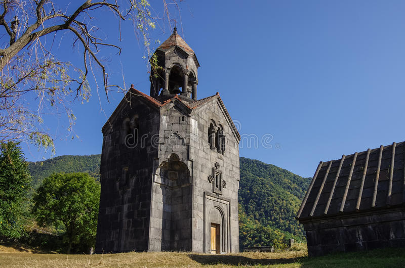 Haghpatavank (Haghpat kloster), en medeltida armenisk kloster arkivfoton
