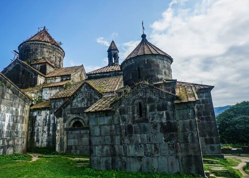 Haghpatavank klosterkyrka royaltyfri bild