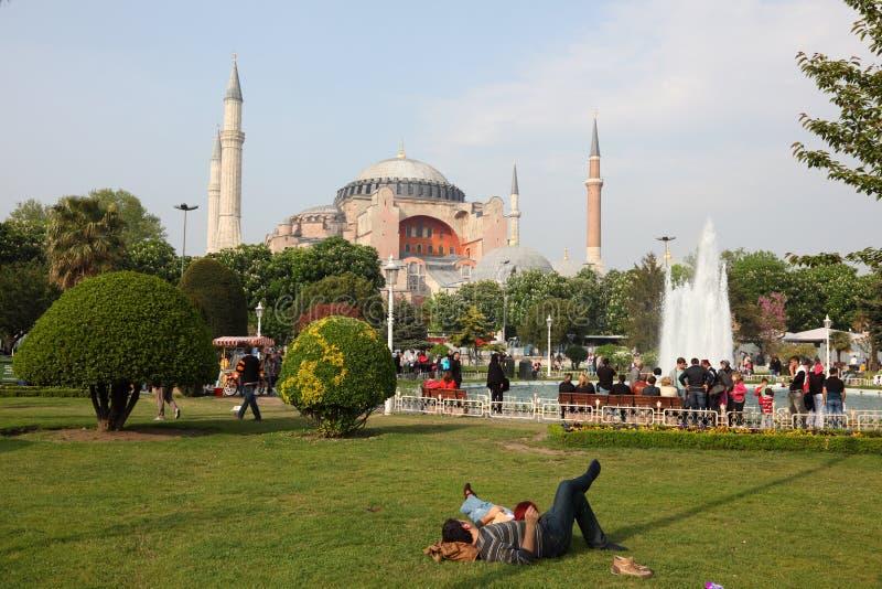 hagia伊斯坦布尔清真寺sophia 免版税库存图片