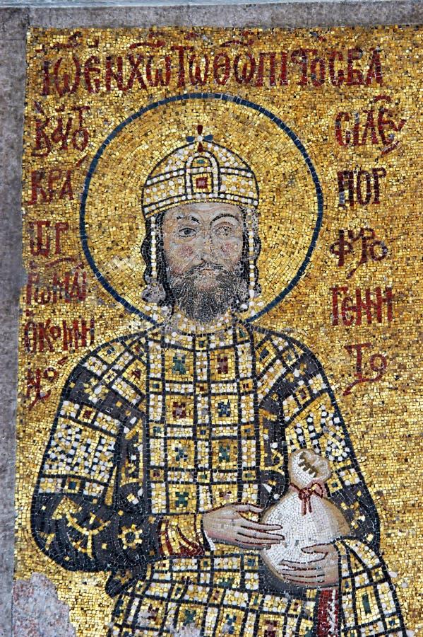 hagia ii istanbul john sofia императора comnenus стоковое фото