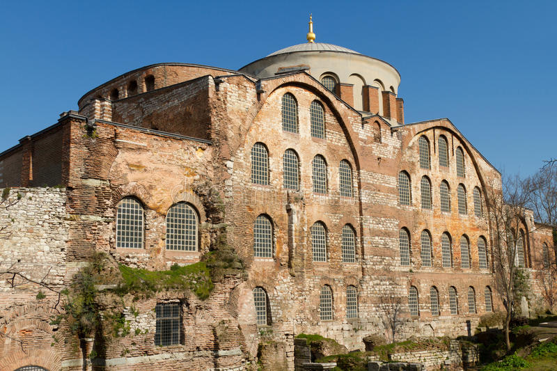 Hagia Irene Church. From Istanbul stock image