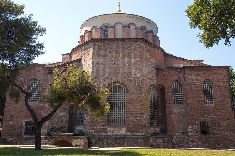 Hagia Irene Church. Aya Irini or Hagia Irene Church / Istanbul / Turkey royalty free stock photography