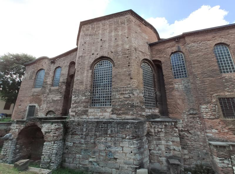 Hagia Irene Church. Spirituality, east. Aya Irini or Hagia Irene Church / Istanbul / Turkey royalty free stock photo