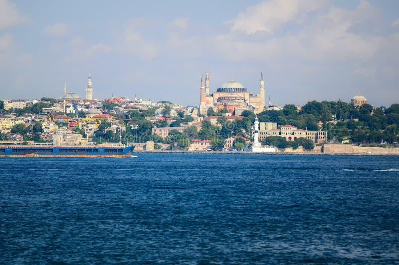 Hagia Irene and Hagia Sophia, Istanbul, Turkey. Good view royalty free stock photos