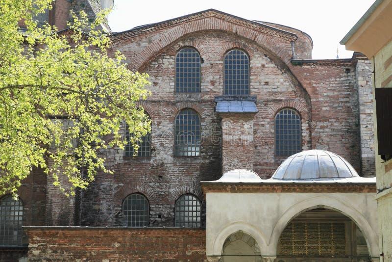 Hagia Irene i Istanbul arkivbild