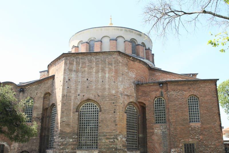 Hagia Irene in Istanbul stockfoto