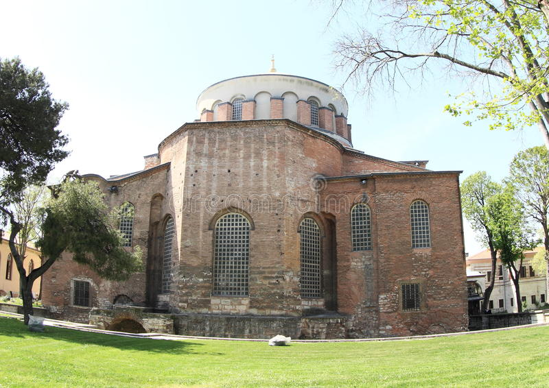 Hagia Irene in Istanbul. Church Hagia Irene in Istanbul, Turkey royalty free stock photo