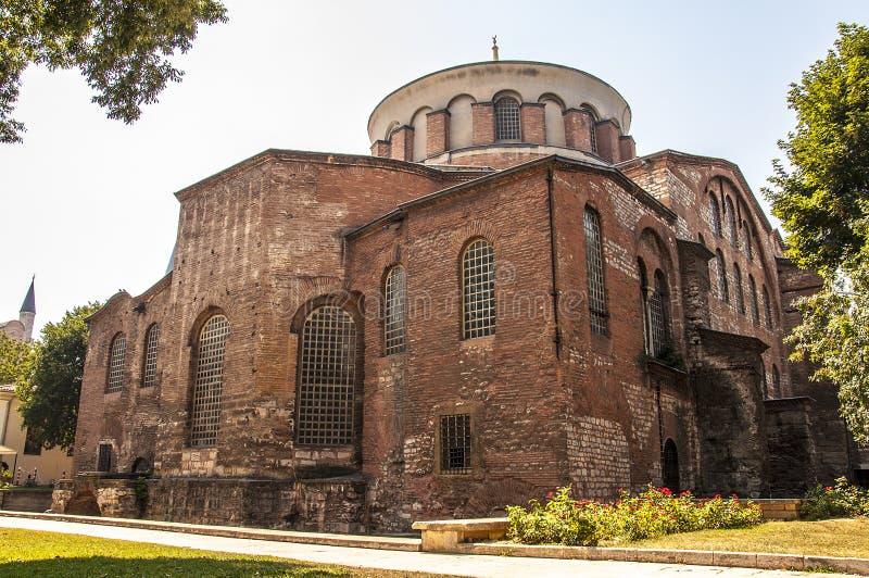 Hagia Irene Kirche stockfotografie