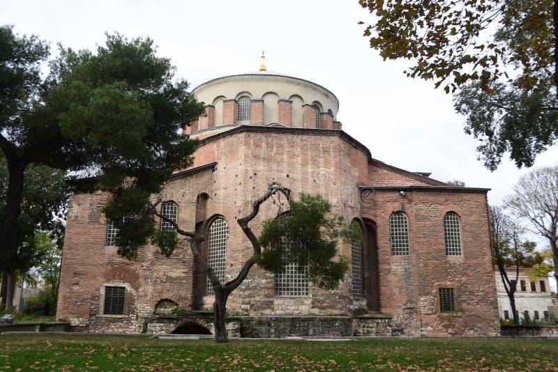 Hagia Irene Kirche, Istanbul, die Türkei lizenzfreies stockfoto