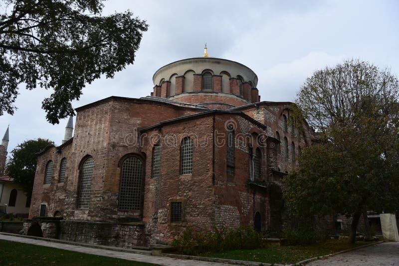 Hagia Irene Kirche, Istanbul, die Türkei lizenzfreies stockbild