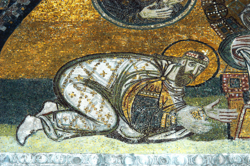 hagia istanbul leon sofia VI императора стоковое изображение