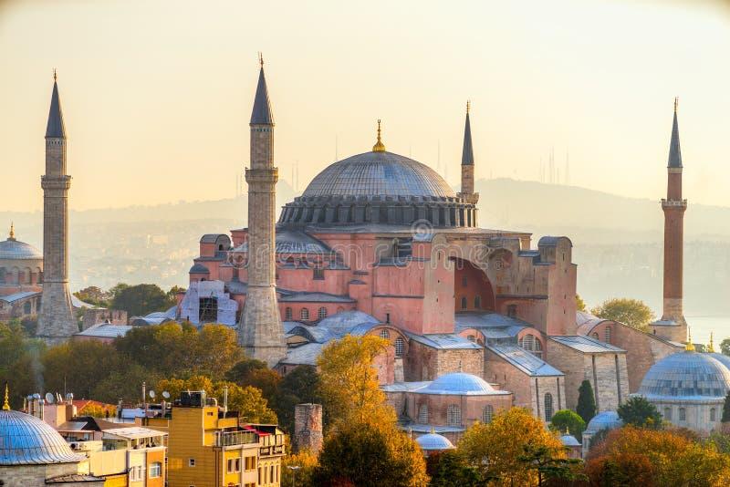 hagia Istanbul meczetowy sophia indyk zdjęcie royalty free