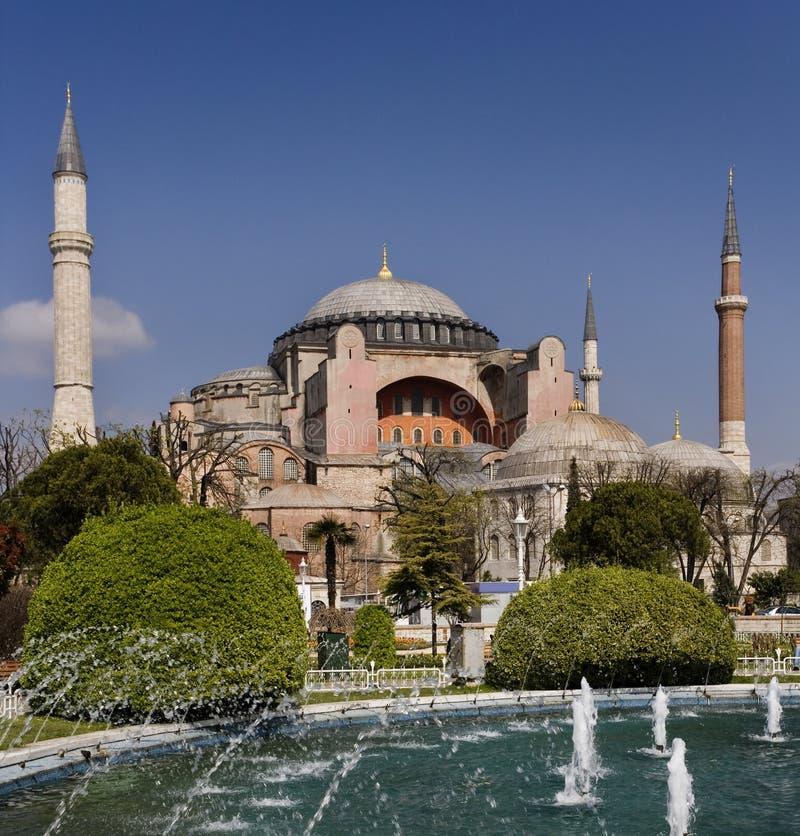 hagia Istanbul meczetu sophia zdjęcie royalty free