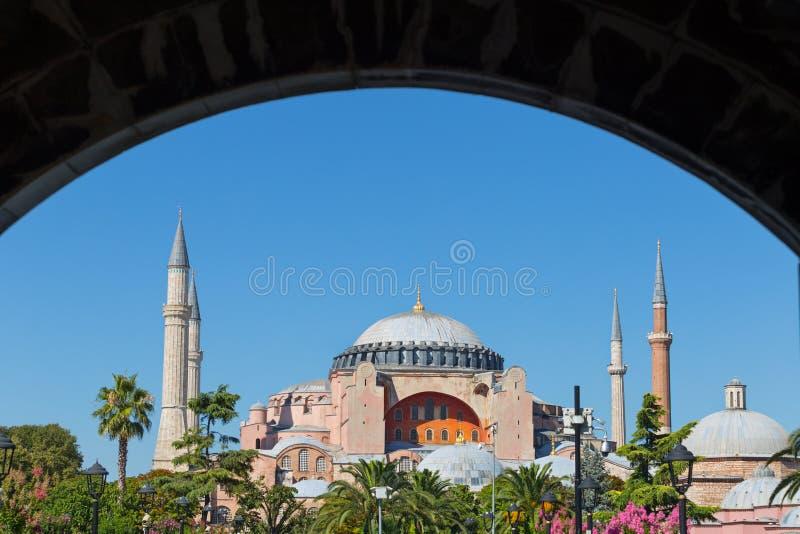 Hagia Sof?a en Estambul fotografía de archivo libre de regalías