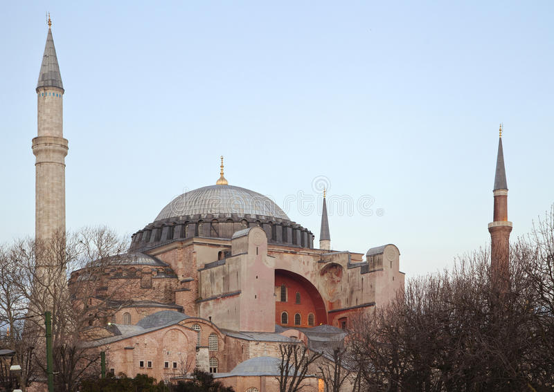 Hagia Sofia stock foto