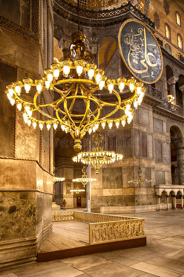 Download hagia sofia chandeliers stock photo image of empire 49742972