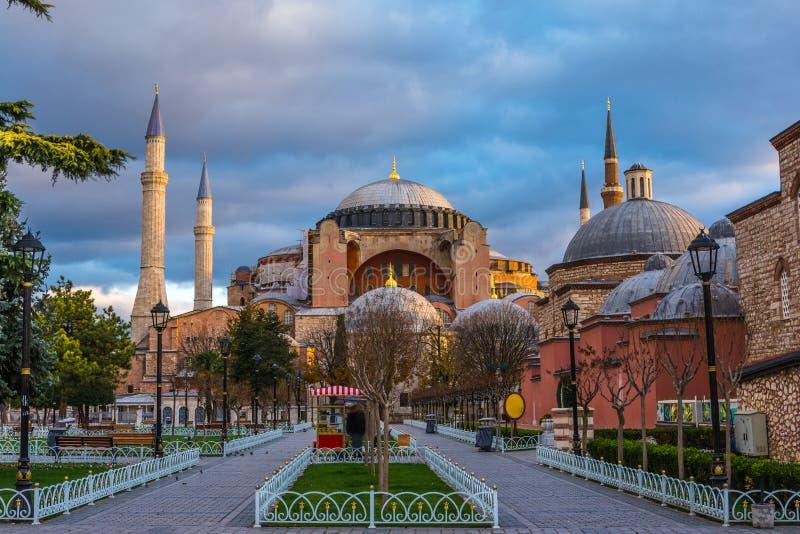 Hagia Sofia i Istanbul arkivfoton
