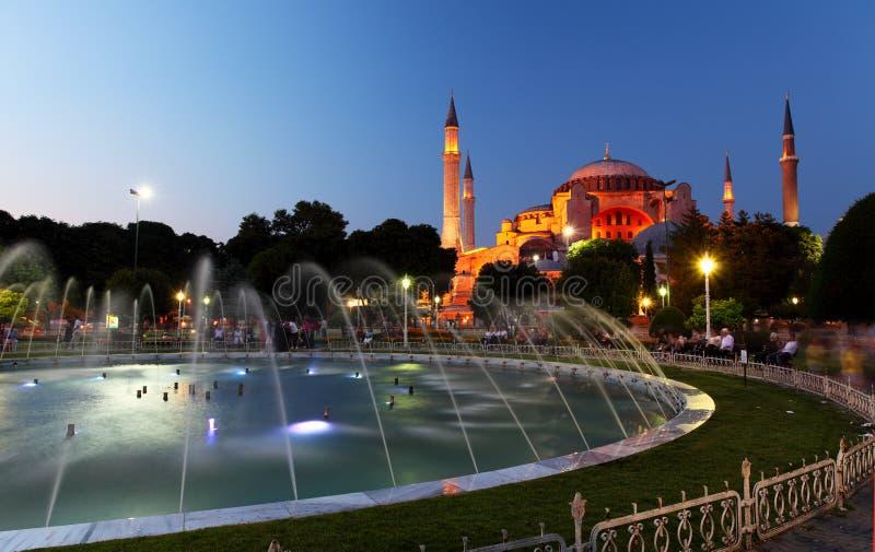 Hagia Sofia - Isntanbul, die Türkei stockbild
