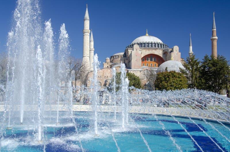 Hagia Sofia Istanboel stock afbeeldingen