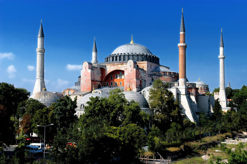 Hagia Sofia in Istanbul stock photo