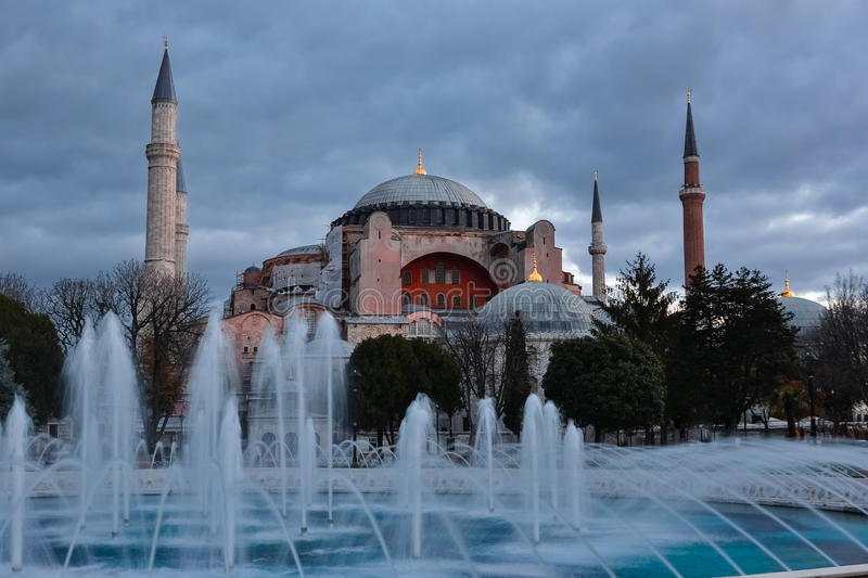 Hagia Sofia in Istanbul royalty free stock image
