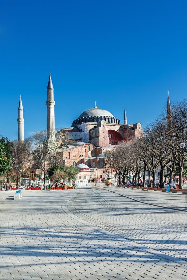 Hagia Sofia in Istanbul stock photography
